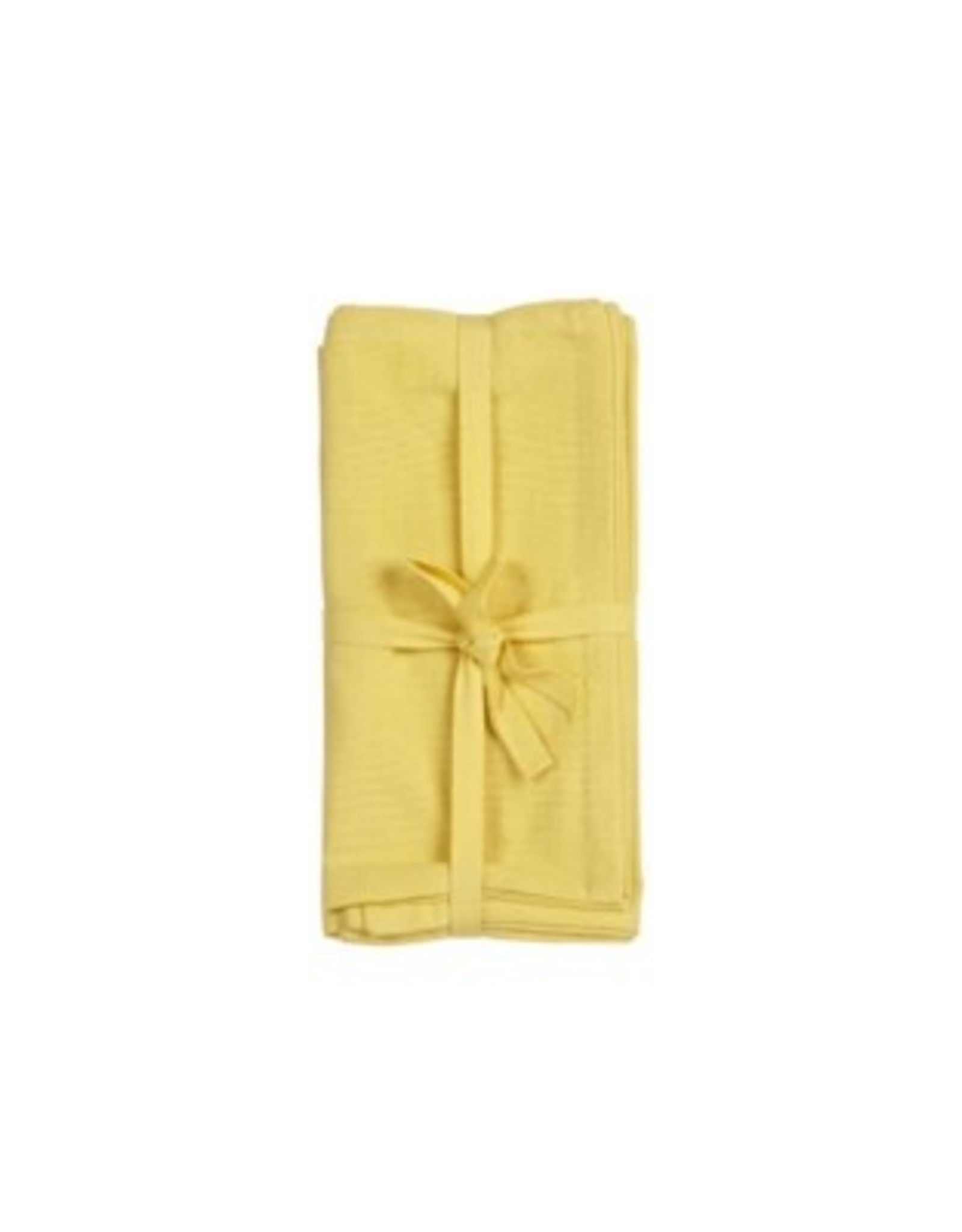 Napkins Harman O/S Solid S/4 20x20 Yellow