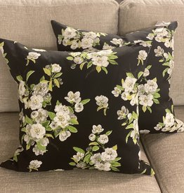 Cushions 95&Co Black White Flowers