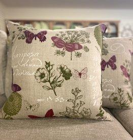 Cushions 95&Co Purple Butterflies