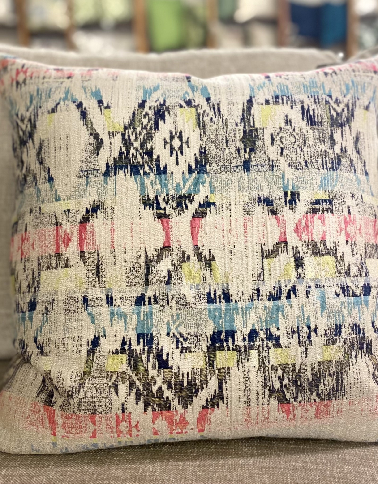 Cushions Home Details Navy Aztec