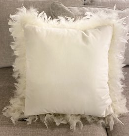 Alamode Home Cushions RJS White Feather