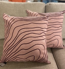 Alamode Home Cushions RJS Pink Red Swirl