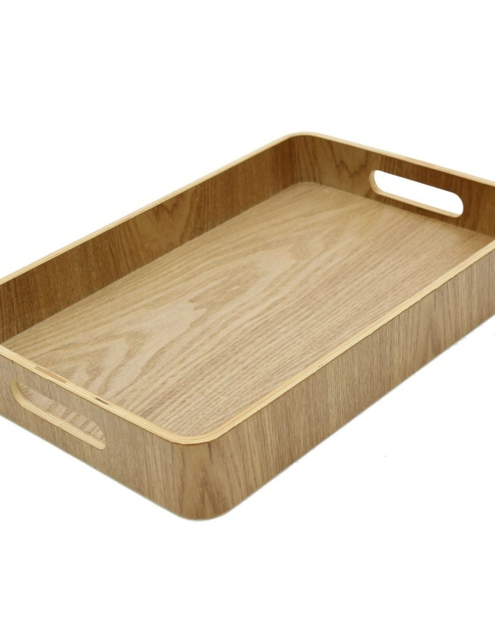 """Cathay Basket Cathay Bentwood Tray 13"""" L 10-2459"""
