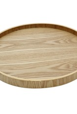 "Cathay Basket Cathay Bentwood Tray Round 13.5"" 10-2462"