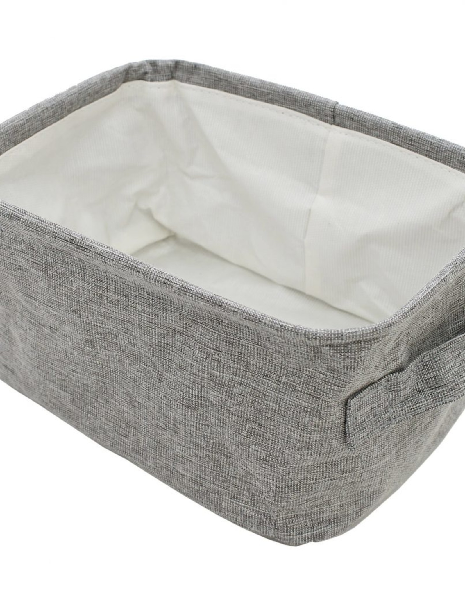 """Cathay Basket Cathay Grey Rectangle 12""""L 10-2446"""