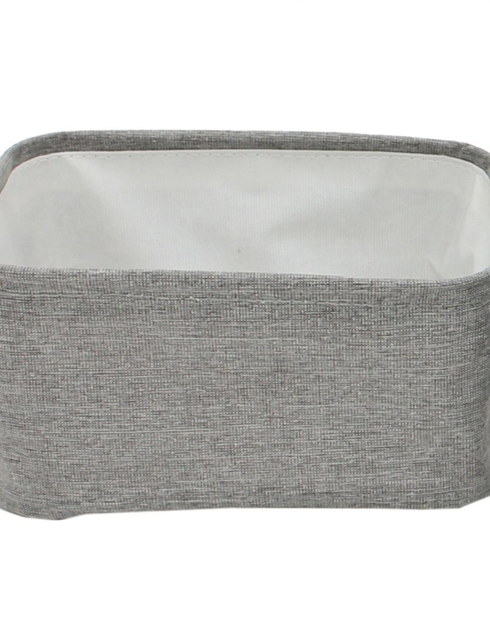 """Cathay Basket Cathay Grey Rectangle 9.5""""L 10-2445"""