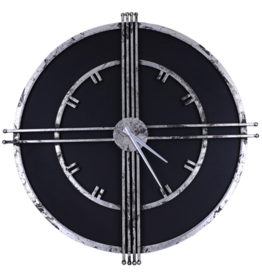 Clocks Northwood Rustic Black IMP8037