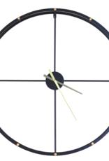 Clocks Northwood Mirror metal wal clock imp8179