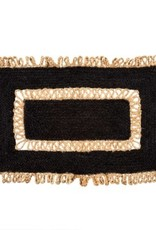 Indaba Rugs Indaba Jute Black/Natural 2 x 3