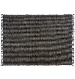 Indaba Rugs Indaba Big Sky Leather Black 5x7