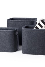 Basket Torre & Tagus Felt Short Medium Dk. Grey 902661B