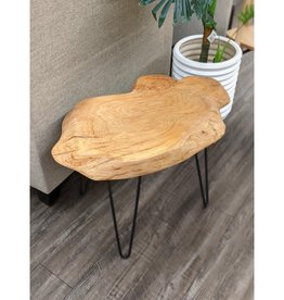 NEWD NEWD End Table Live Edge Small