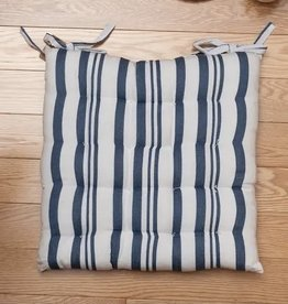 Fab Styles Cushions  Fab Styles Chair Pad Broadway Blue