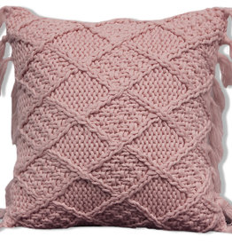 Alamode Home Cushions RJS Knit Pink Small