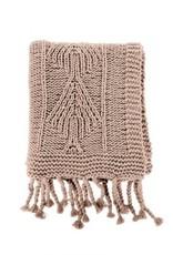 Indaba Throw Indaba Cotton Knit Beige