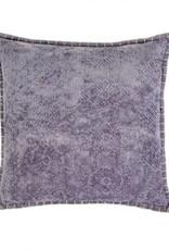 Indaba Cushions Indaba Jacquard Velvet Violet 20 x 20