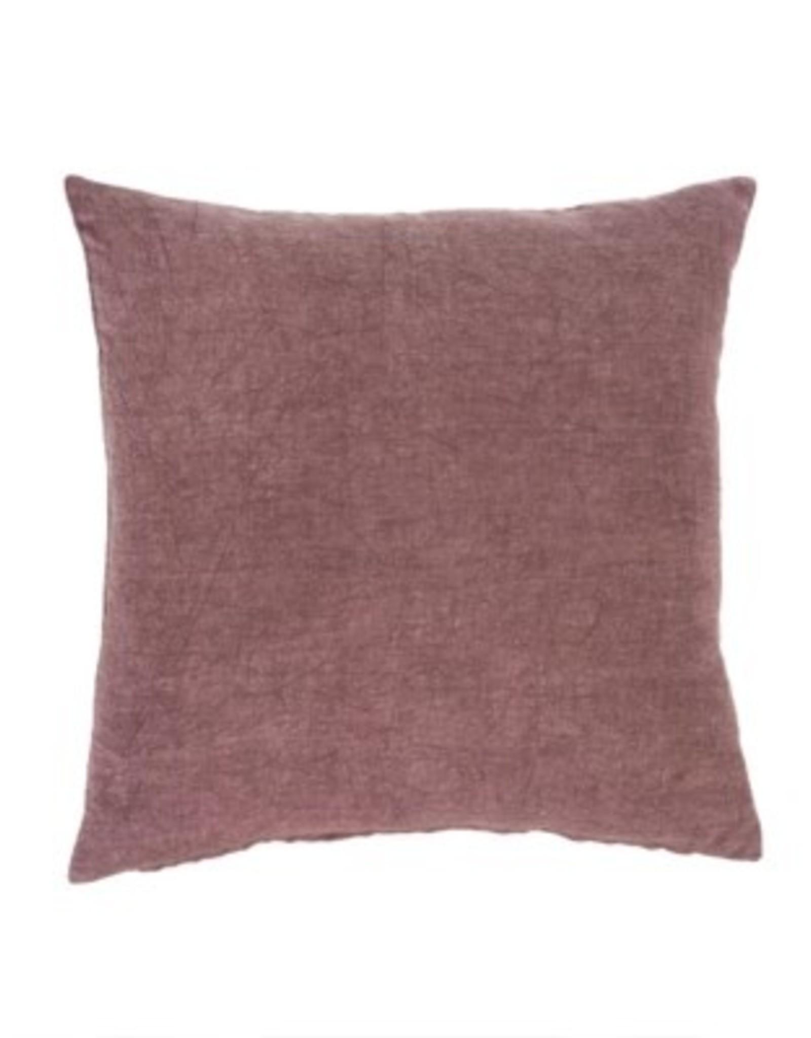 Indaba Cushions Indaba Nala Linen Plum 20 x 20