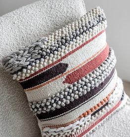 Style In Form Cushions SIF Bohemian Macrame  Multi 18 x 18 BOH-037