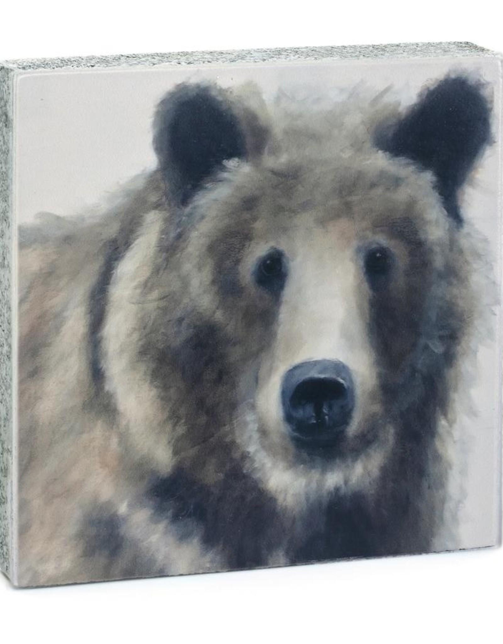 Cedar Mountain Cedar Mountain Art Block Brown Bear LF3017
