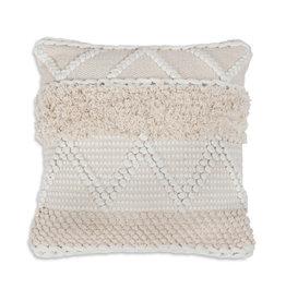 Style In Form Cushions SIF Macrame Cream 18 x 18 BOH-010