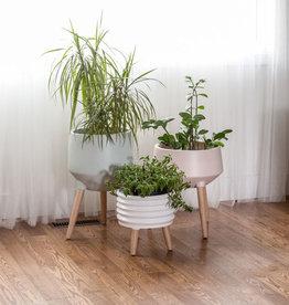 Style In Form Planter SIF Circa Coil Short White AGW-010