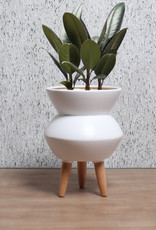 Cathay Planter Cathay Evelyn Matte White 08-1997