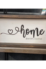 Mountain Momma Home Design Signs MMHD Home Sweet Home - Chocolate