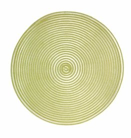 Placemat Harman Sheer Round Green