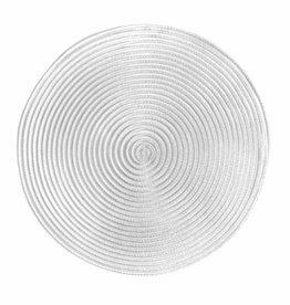 Placemat Harman Sheer Round White 49840423