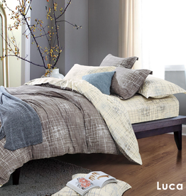 Duvet Set Contempo Luca King w / shams