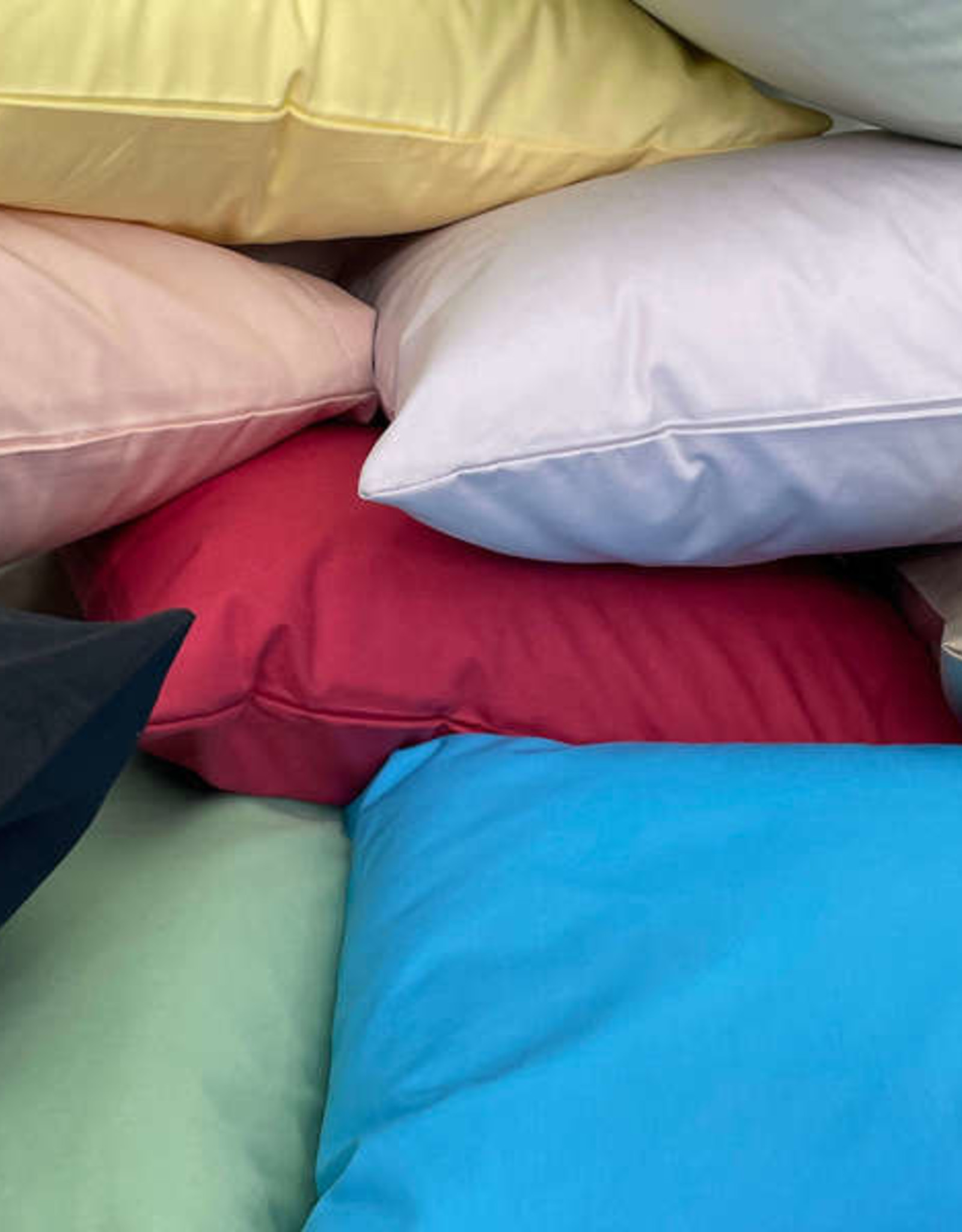 Cuddle Down Pillow Cases Cuddledown Percale Fashion King ( Pair) Butter ( 52 )