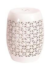 Candym Stool White Lattice R18824X