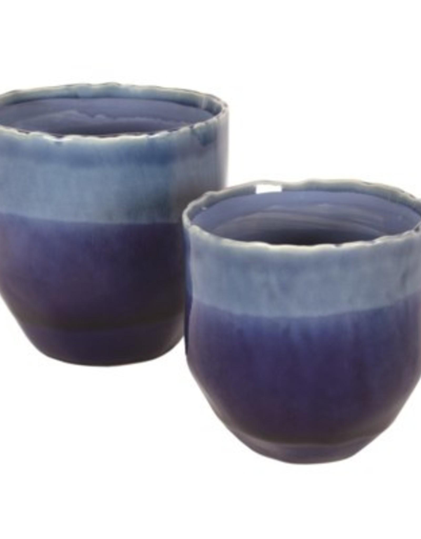 Pot Candym Blue Ceramic Small N21813
