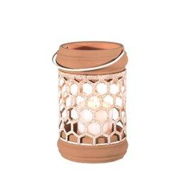 "Lantern Candym  Metal / Clay 10"" RT1400"
