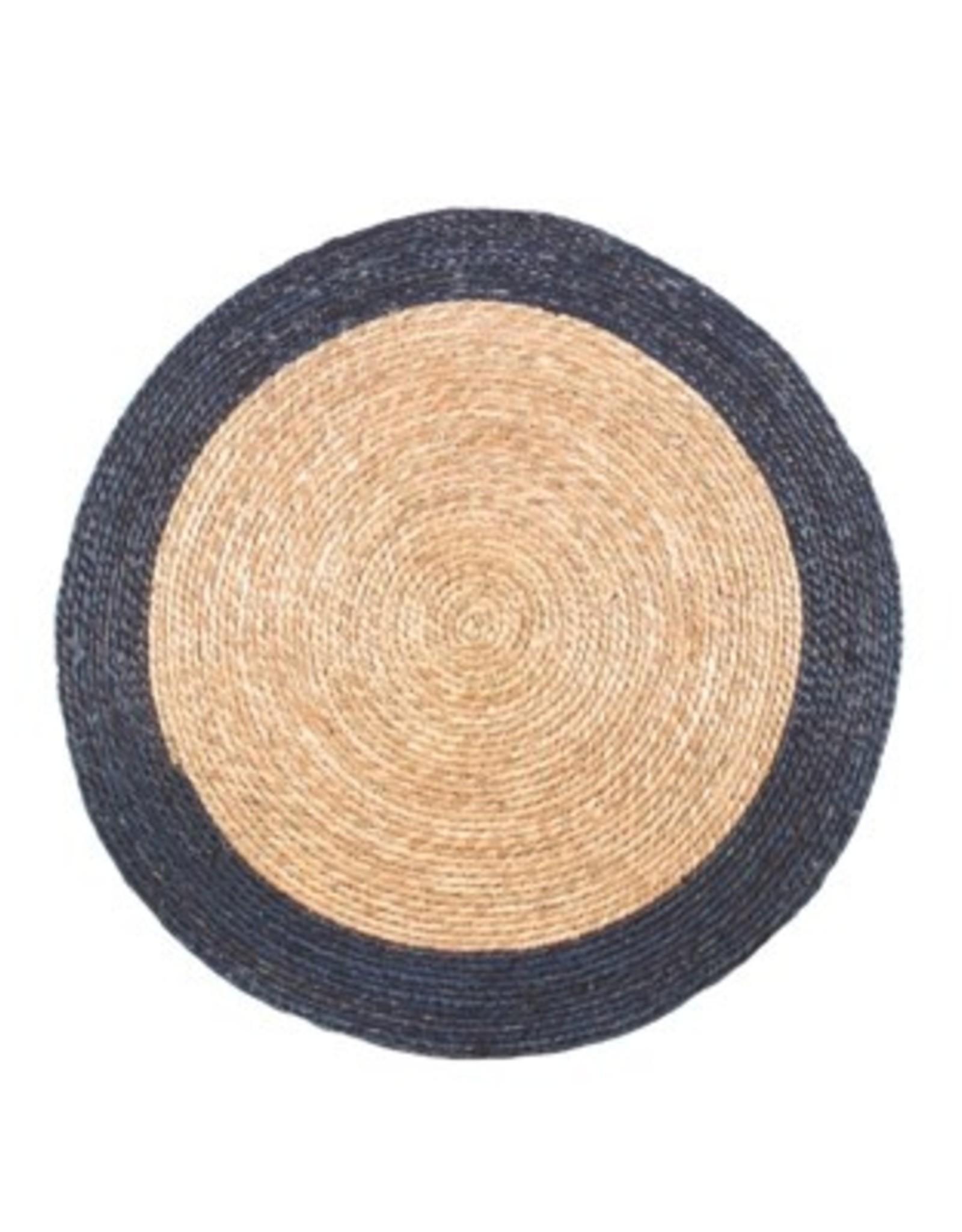 Doormat Candym Blue Stripe 32 Round RT6146