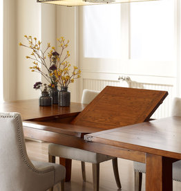 LH Imports LH Irish Coast Extension Dining Table Large African Dusk
