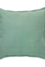 Cushions Brunelli Linen Wash Sage Euro 25 x 25