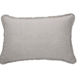 Cushions Brunelli Linen Light Grey 16 x 24
