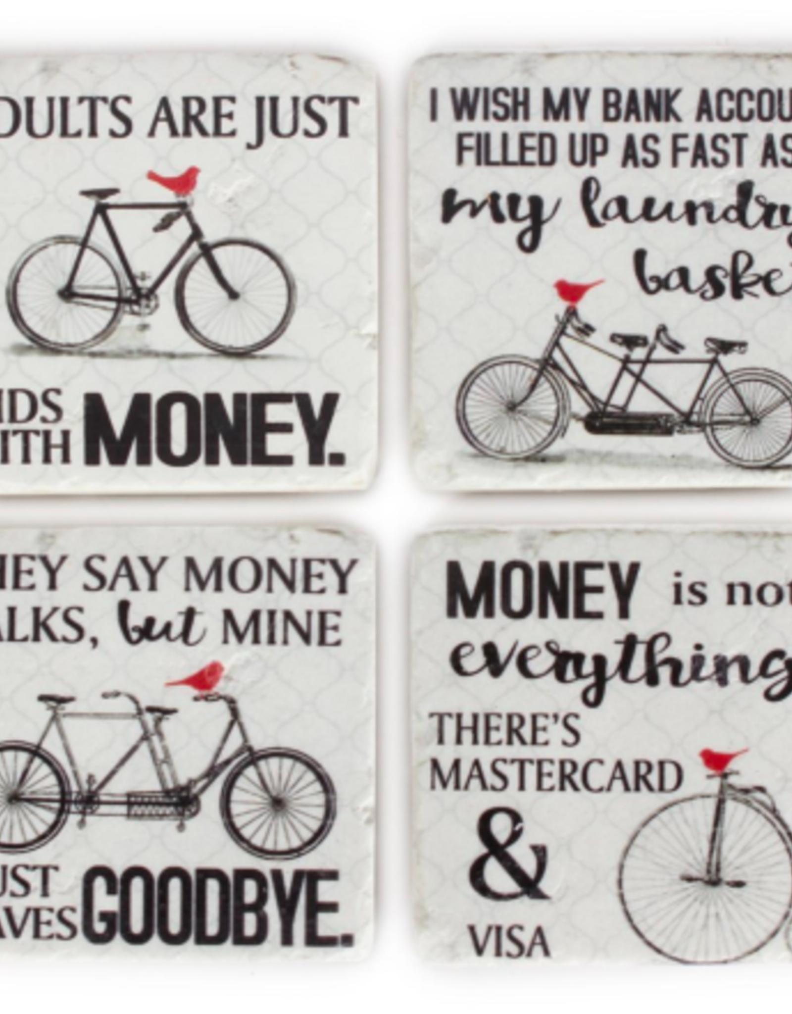 Coasters CJ Bicycles S/4