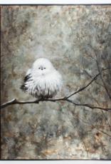 Art CJ White Bird In The Forest