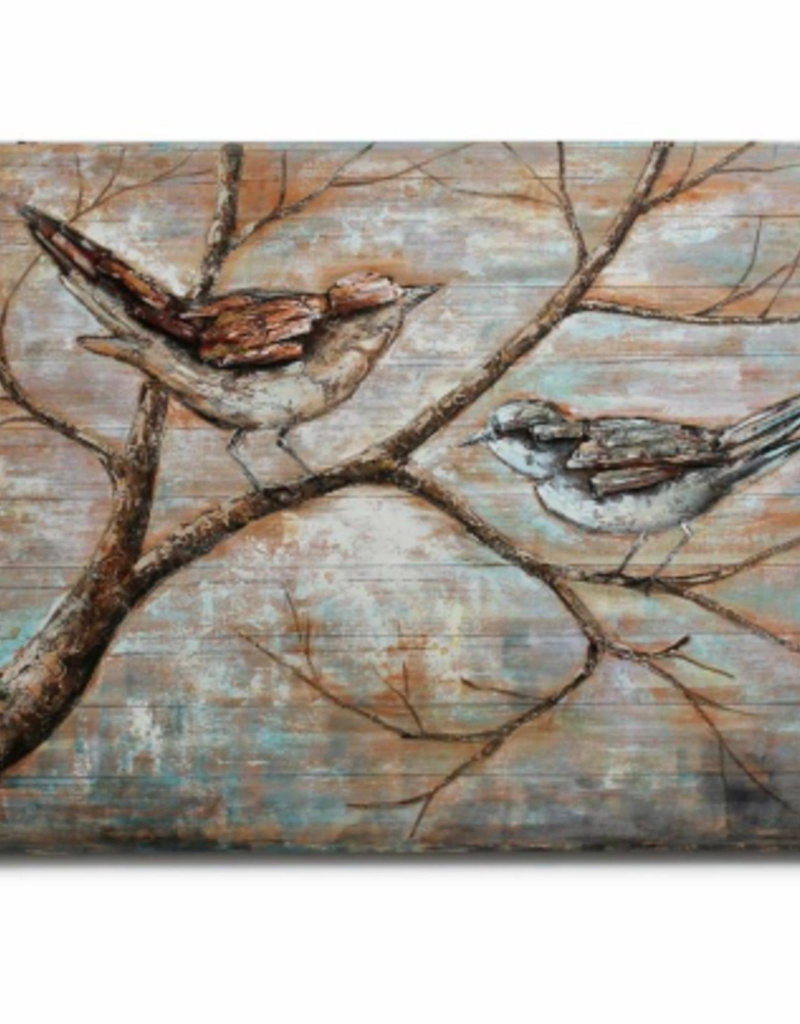 Art CJ Birds on Branches