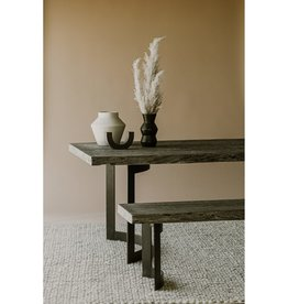 Moes Home Collection Moes Bent Dining Table Extra Small Weathered Grey VE-1036-29