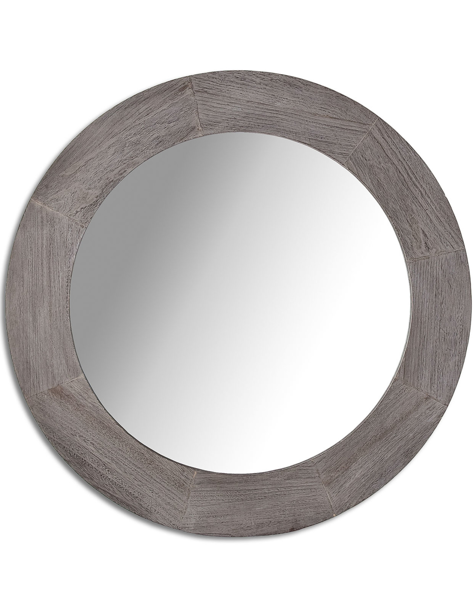 Style In Form Mirror SIF Round Bristol Dark Oak BOH-023