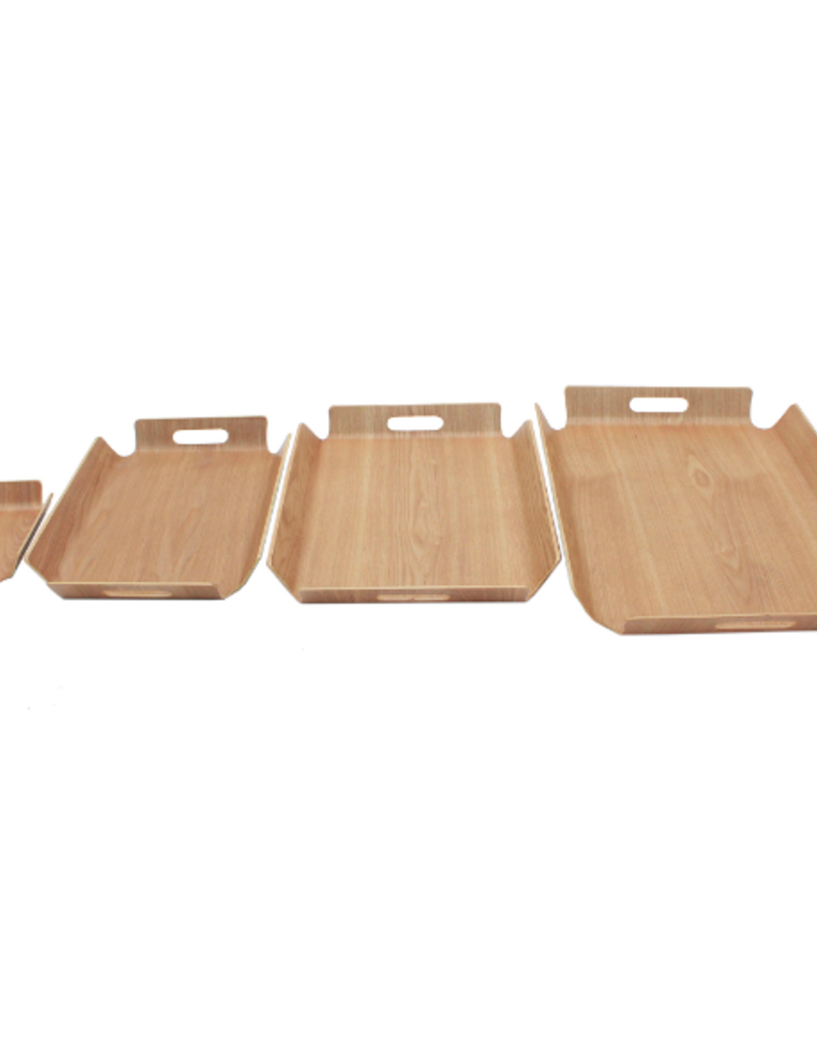 """Cathay Basket Cathay Bentwood Tray 8"""" L 10-2523"""