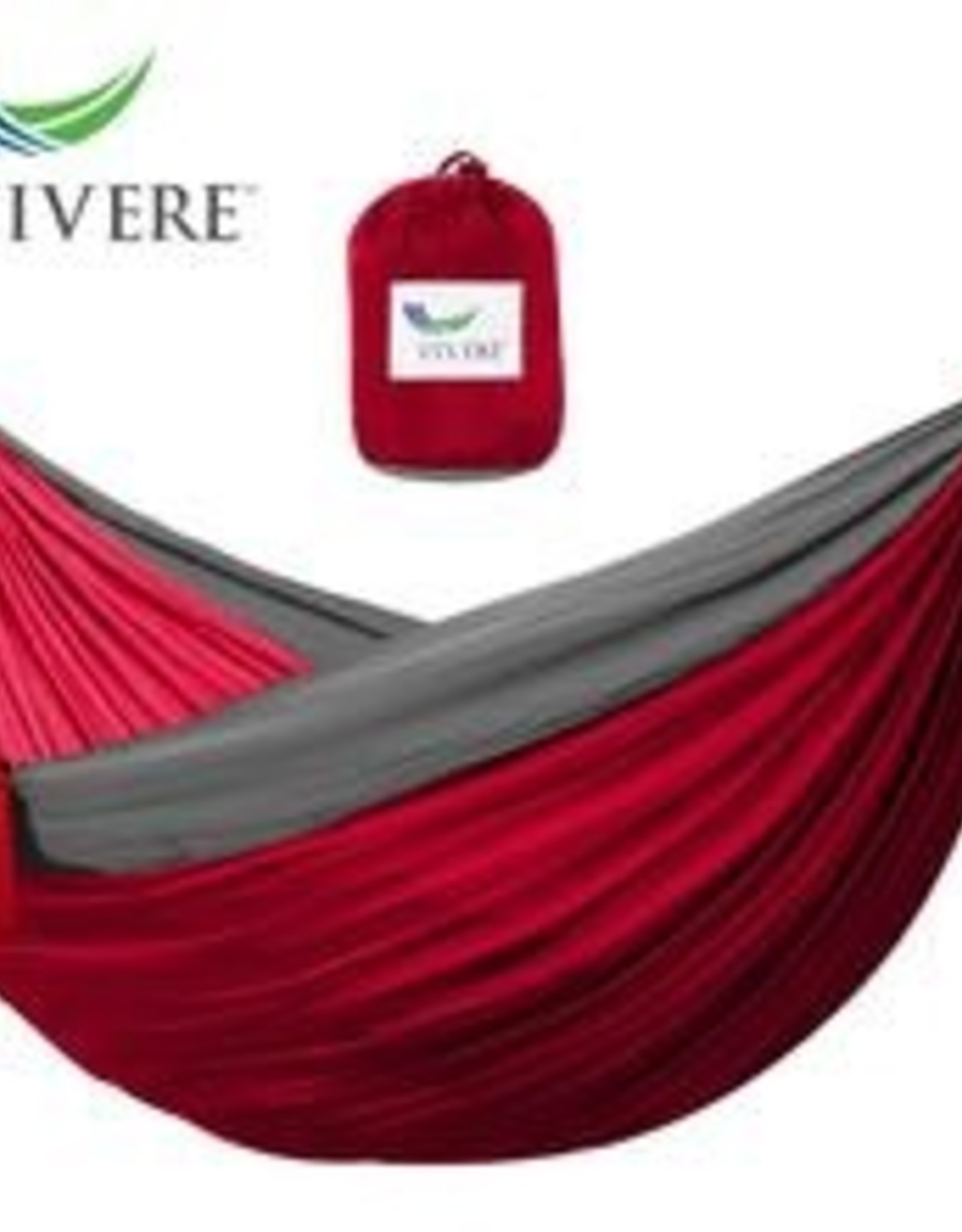 Hammock Vivere Parachute Double Crimson / Grey 253