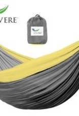 Hammock Vivere Parachute Double Grey / Yellow 251