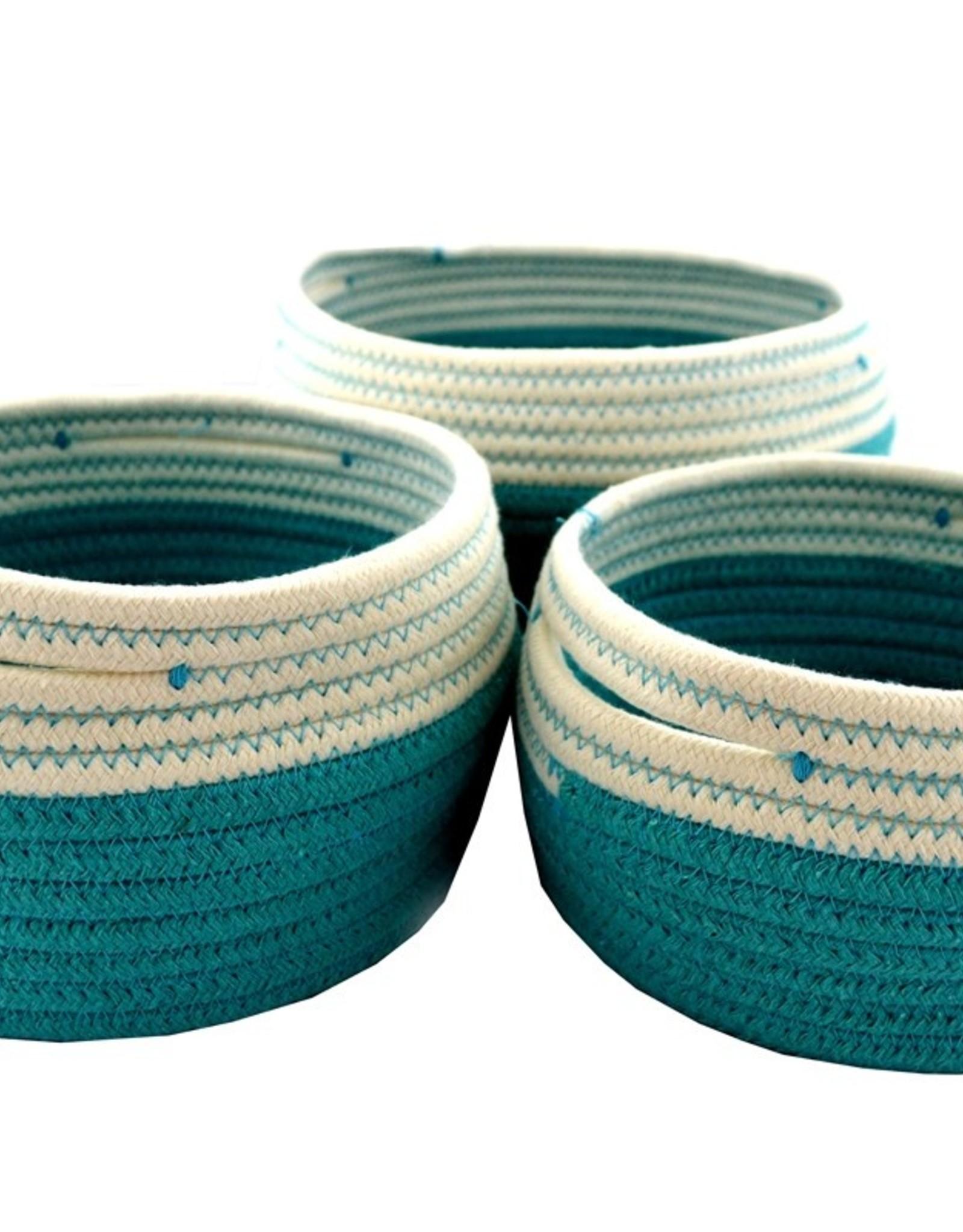 Nostalgia Basket Nostalgia Storage Turquoise Large 709-084