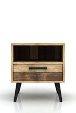 LH Imports LH Apollo Nightstand 1 Drawer  APL002