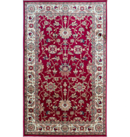 Rugs Avocado Artificial Silk 2'4 x 7'3 Majesty Red