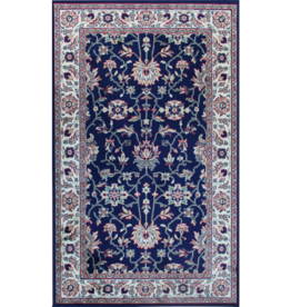 Rugs Avocado Artificial Silk 2'4 x 7'3 Majesty Navy